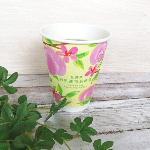 ローソンウチカフェの白桃凍頂烏龍茶