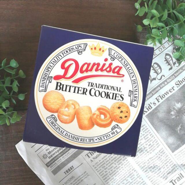 ダニサバタークッキー90gのパッケージ