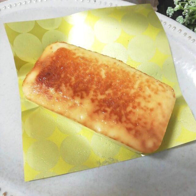 ローソン「麗溶けチーズテリーヌ」の焼き目
