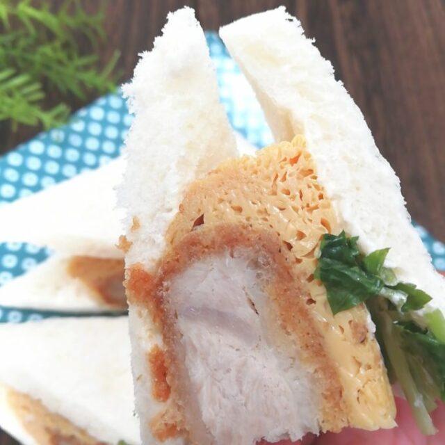 ローソンのサンドイッチ「三つ葉入りかつとじサンド」を実食
