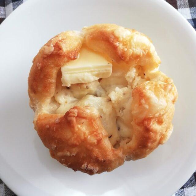 ローソンのじゃがバターパンのトッピング