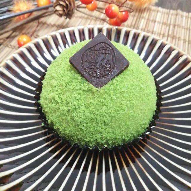 セブンイレブン×伊藤久右衛門のチーズケーキ「宇治抹茶ちーずけーき苔まる」が苔みたいにまん丸