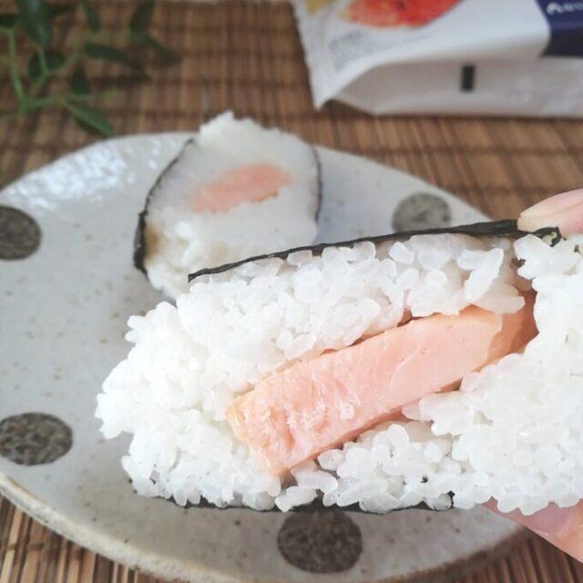 ローソンの焼鮭ハラミを実食