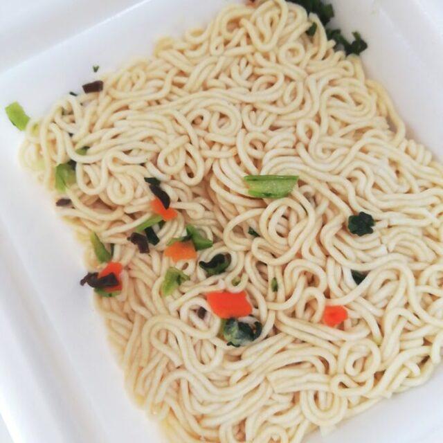 カルディの上海風炒麺の麺