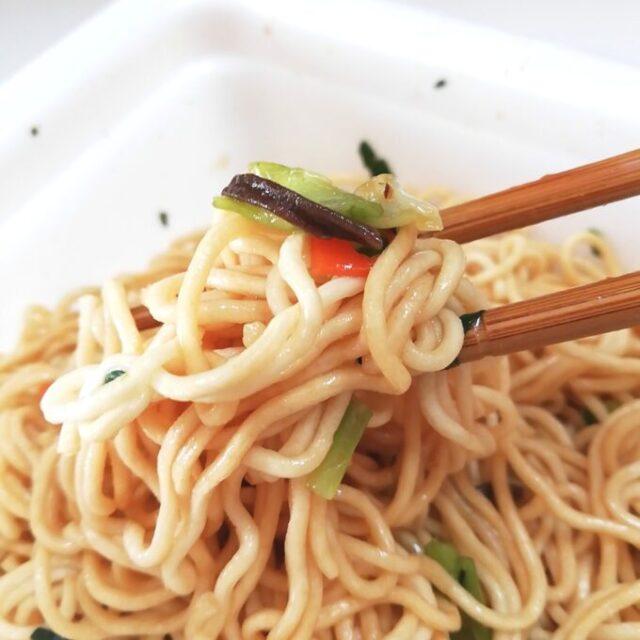 カルディの上海風炒麺を実食