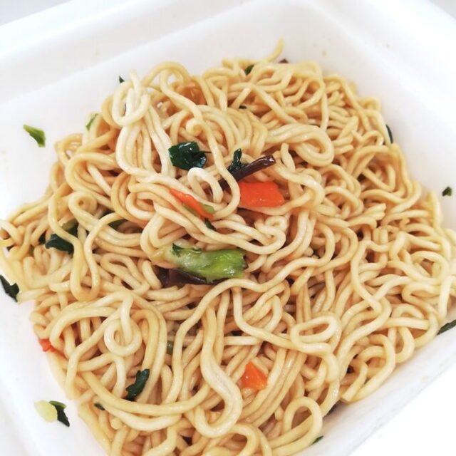 カルディの上海風炒麺の出来上がり