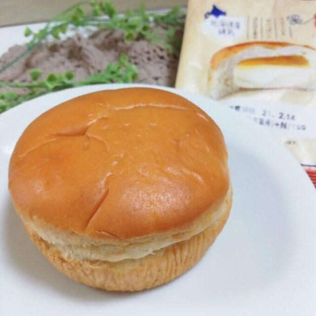 菓子パン新商品「神戸屋しあわせ届ける練乳くりぃむぱん」の中身全体