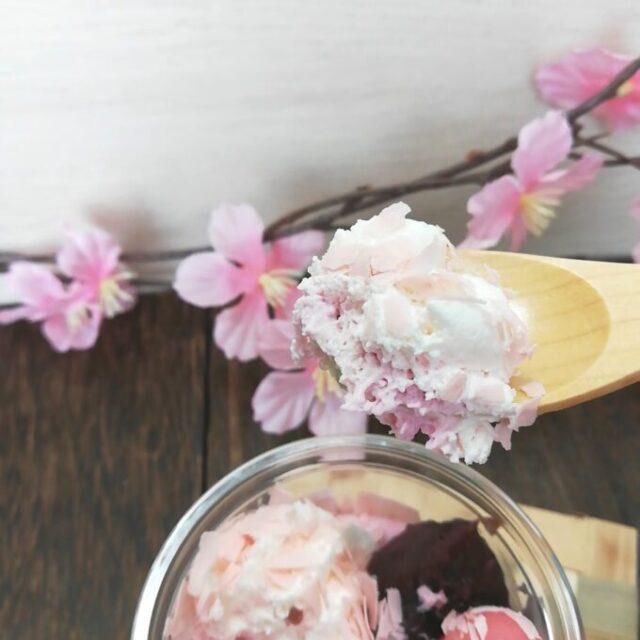 セブンイレブンの桜と宇治抹茶のパフェを実食