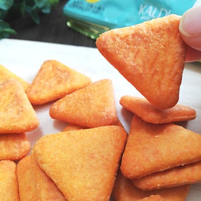 カルディのスモークチーズビスケットを実食