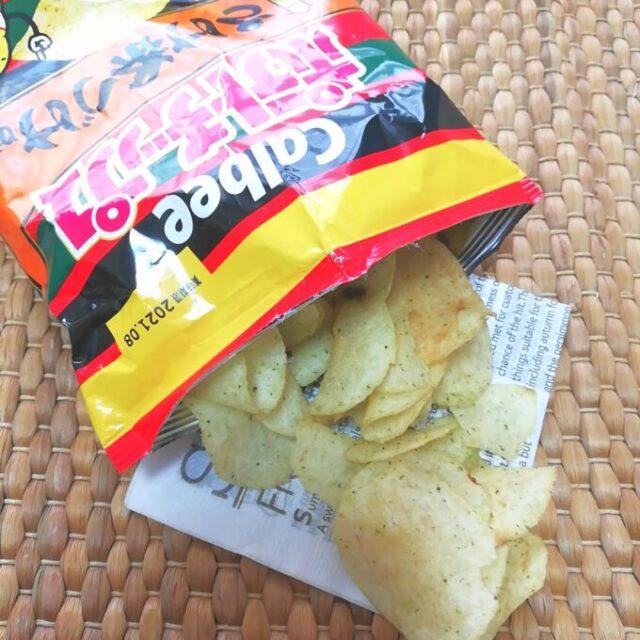 ポテトチップス×永谷園の「さけ茶づけ味」の中身