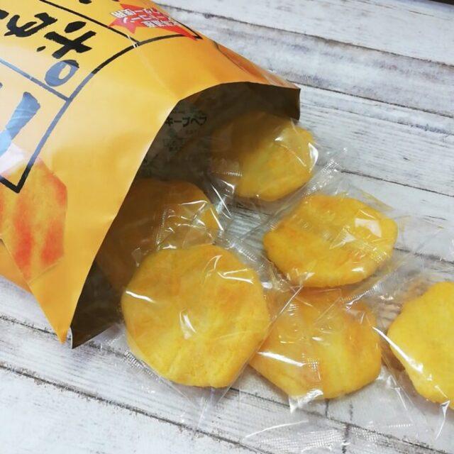 カルディのコーンポタージュのおせんべいの個包装