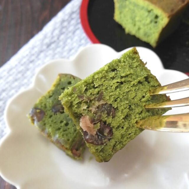 カルディの抹茶あずきケーキを常温で実食