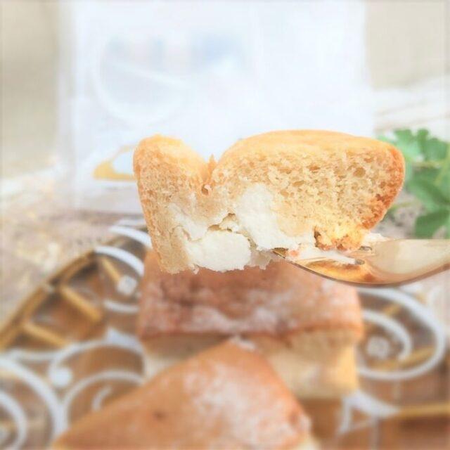 ローソンの生シフォンケーキメープルを実食