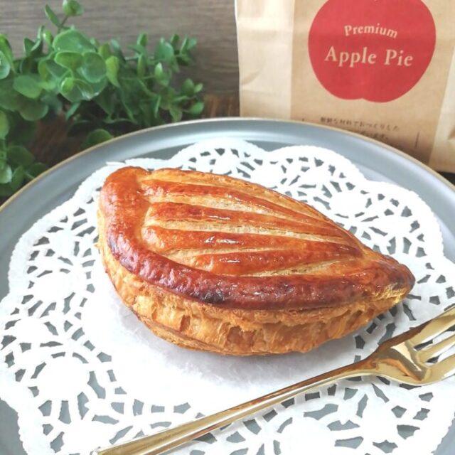 シャトレーゼのプレミアムアップルパイとパッケージ