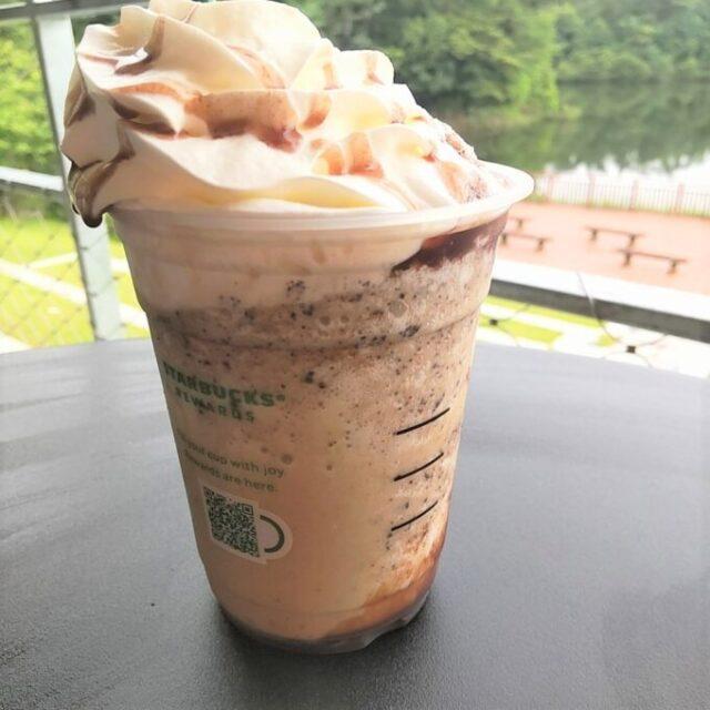 スタバのあんこコーヒーフラペチーノのチョコチップ部分