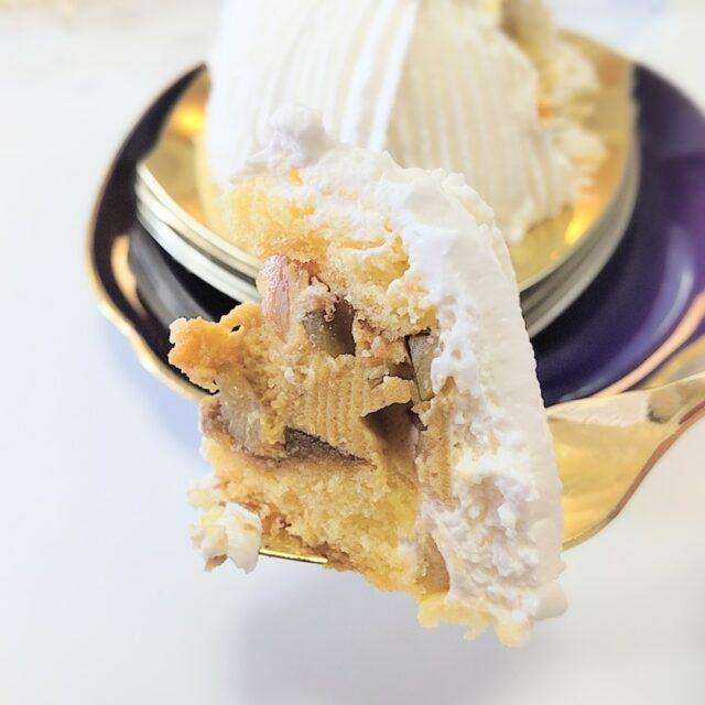 ミニストップ「ごろごろ栗の純白ケーキ」を実食